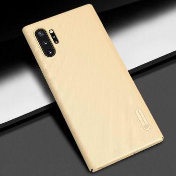 Золотой пластиковый чехол Silk Touch для Samsung Galaxy Note 10