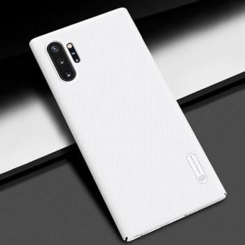 Защитный пластиковый чехол Silk Touch для Samsung Galaxy Note 10 белый