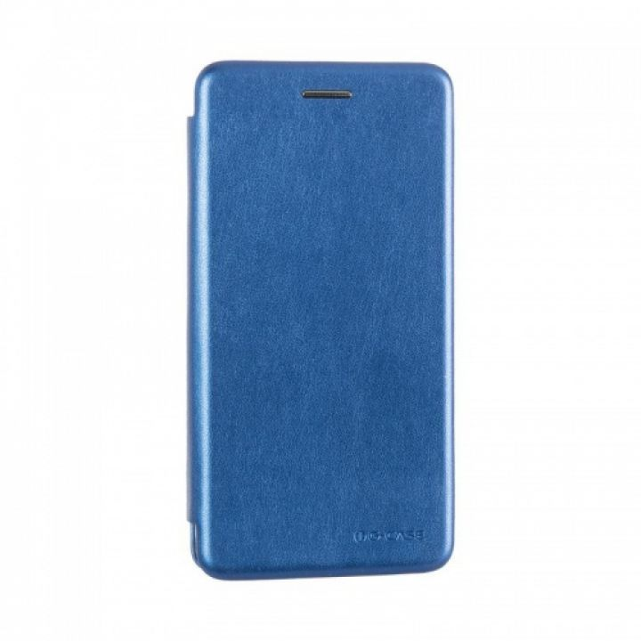 Чехол книжка из кожи Ranger от G-Case для Xiaomi Redmi 4x синий