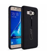 Чехол пенал с подставкой для Samsung Galaxy J7 2016 черный