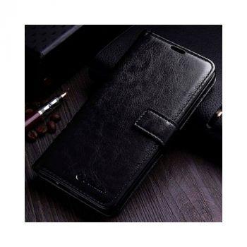 Классический  чехол книжка Luxury Retro для Samsung Galaxy S8 Plus black