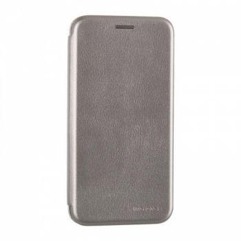 Чехол книжка из кожи Ranger от G-Case для Huawei P Smart Plus/Nova 3i серый