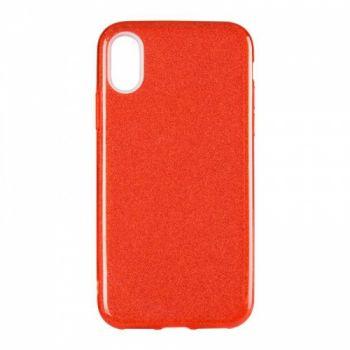 Чехол с блесками Glitter Silicon от Remax для iPhone XS Max Red
