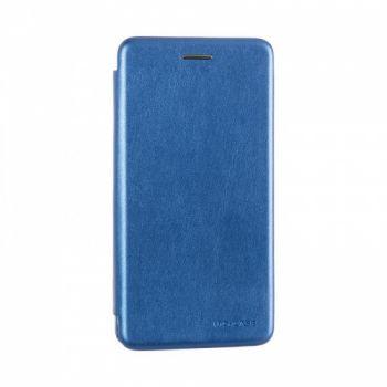 Чехол книжка из кожи Ranger от G-Case для Huawei P Smart Plus/Nova 3i синий