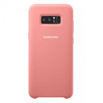Оригинальный чехол накладка Soft Case для Samsung Note 8 розовый
