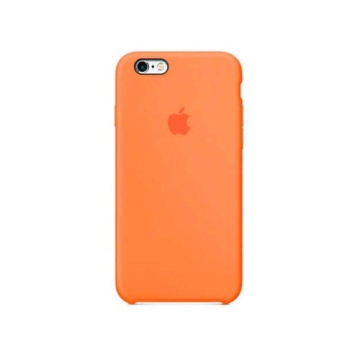 Яркий оранжевый чехол накладка для iPhone 6/6s original copy