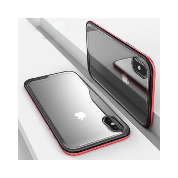 Ultra Protection красный чехол бампер для iPhone X
