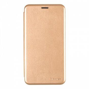 Чехол книжка из кожи Ranger от G-Case для Meizu M6 Note золото