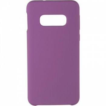 Чехол накладка под оригинал Soft Matte для Samsung S10e фиолетовый