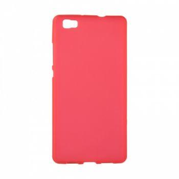 Оригинальная силиконовая накладка для Huawei P8 Lite красный