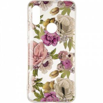 Яркая накладка Flowers Shine от Gelius для Samsung A50 Rose