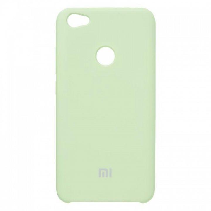 Оригинальный чехол накладка Soft Case для Xiaomi Redmi Note 5a Prime Lime