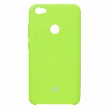 Оригинальный чехол накладка Soft Case для Xiaomi Redmi Note 5a Prime зеленый