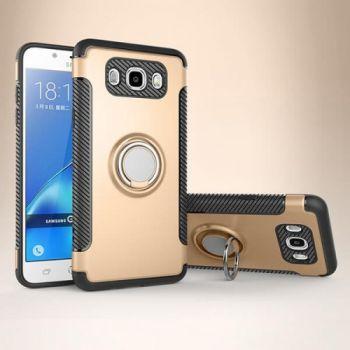 Противоударный золотой чехол накладка Ringo для Samsung Galaxy J710