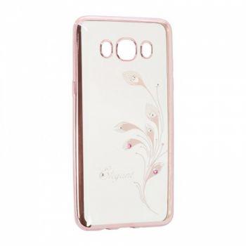 Прозрачный чехол с рисунком и камешками для Meizu M5c Elegant