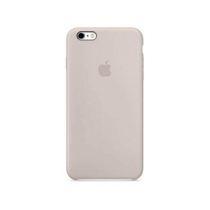 Силиконовый чехол накладка Grey для iPhone 6 Plus original copy