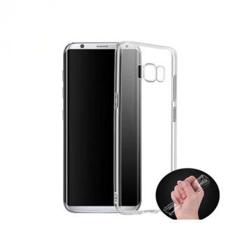 Тонкий прозрачный чехол накладка Bright для Samsung Galaxy S8 Plus
