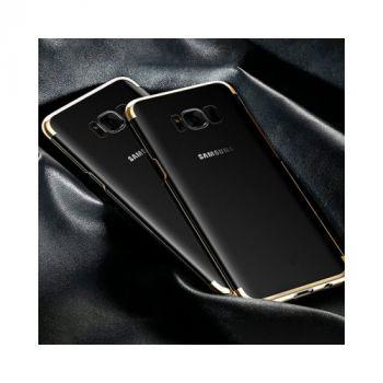 Красивый чехол бампер Golden для Samsung Galaxy S8 Plus
