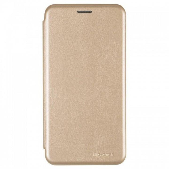 Чехол книжка из кожи Ranger от G-Case для Xiaomi Redmi Note 5a золотой