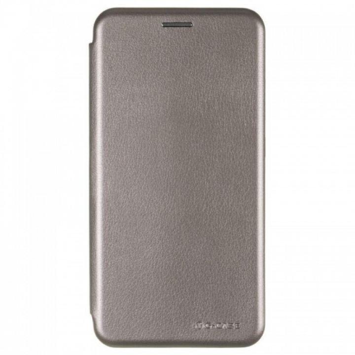 Чехол книжка из кожи Ranger от G-Case для Xiaomi Redmi Note 5a серый