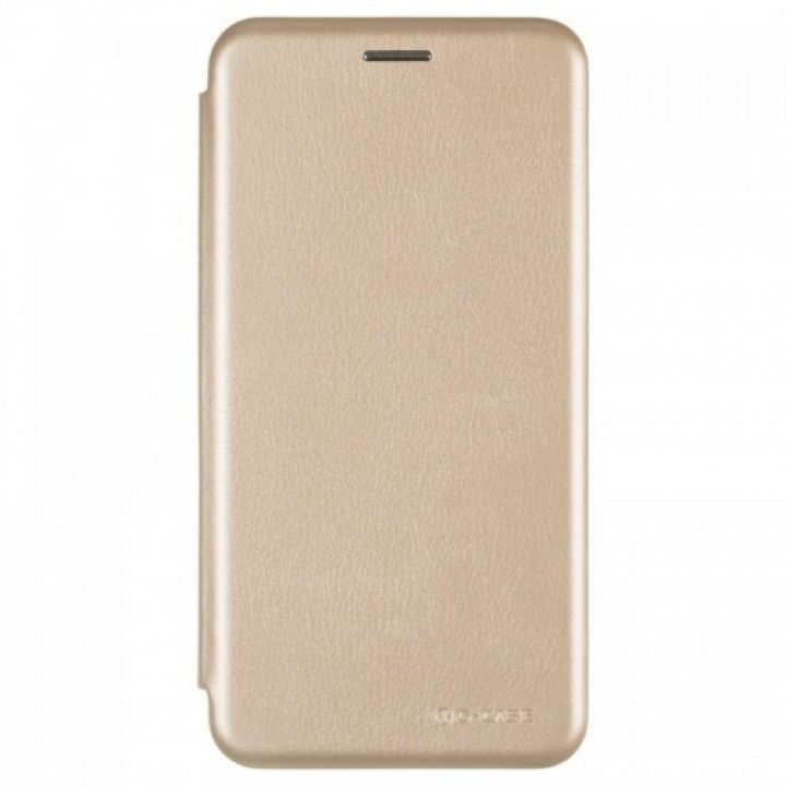 Чехол книжка из кожи Ranger от G-Case для Xiaomi Redmi Note 5a Prime золотой