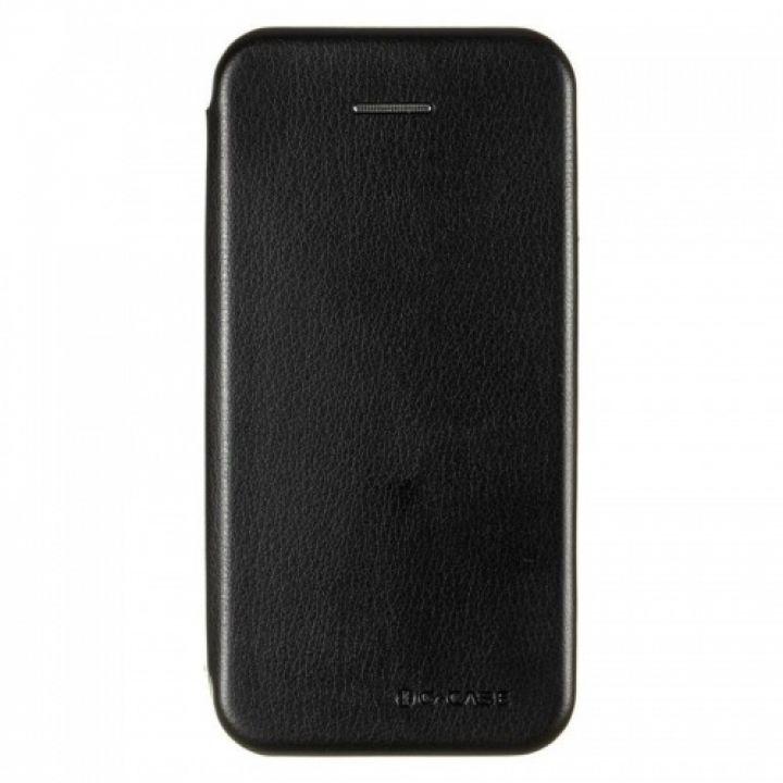 Кожаный чехол флип Luxor для iPhone XS Max черный