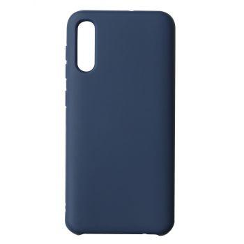Чехол накладка под оригинал Matte для Samsung A50 темно-синий