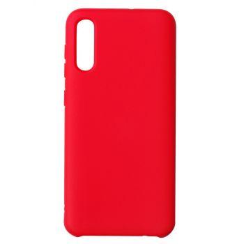 Чехол накладка под оригинал Matte для Samsung A50 красный