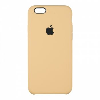 Оригинальный чехол накладка Soft Case для iPhone 6 Plus золото