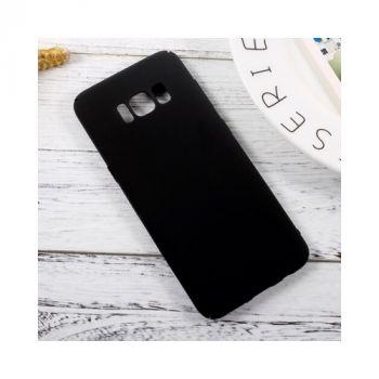 Черный чехол бампер Silk Touch для Samsung Galaxy S8 Plus
