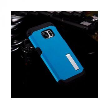 Противоударный чехол накладка Strong для Samsung Galaxy S7 blue
