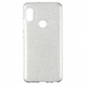 Чехол с блесками Glitter Silicon от Remax для Xiaomi Redmi 6/6a Silver