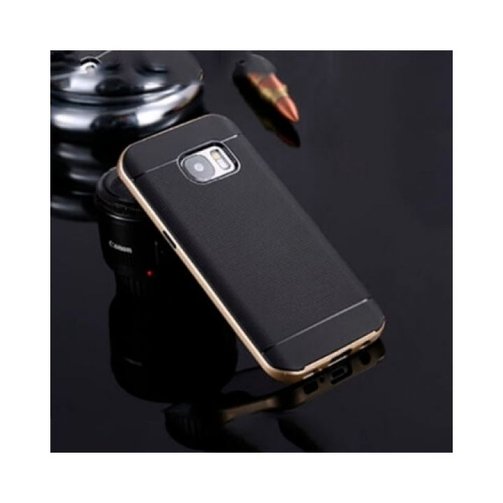 Чехол пенал Armor для Samsung Galaxy S7 gold