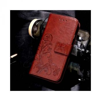 Кожаный чехол книжка Lovely для Samsung Galaxy S7