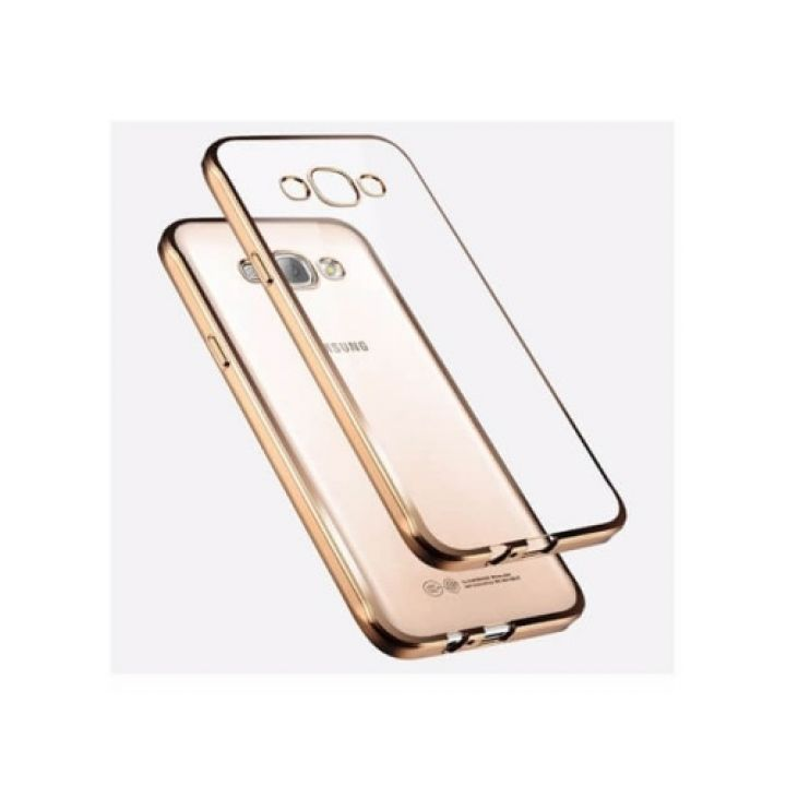 Чехол накладка Sincerity для Samsung Galaxy J3 gold