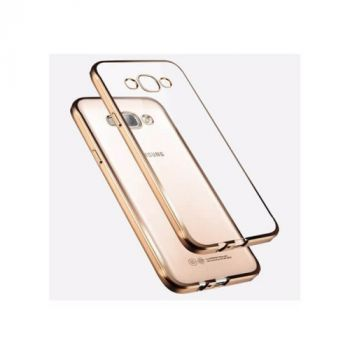 Чехол накладка Sincerity для Samsung Galaxy J2 gold