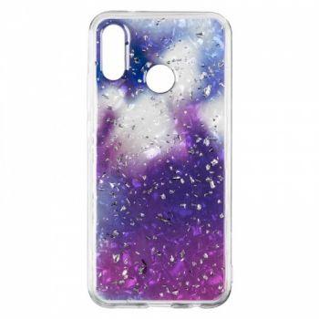 Чехол с жидкостью и блестками Light Stone от Baseus для Huawei P20 Lite Violet