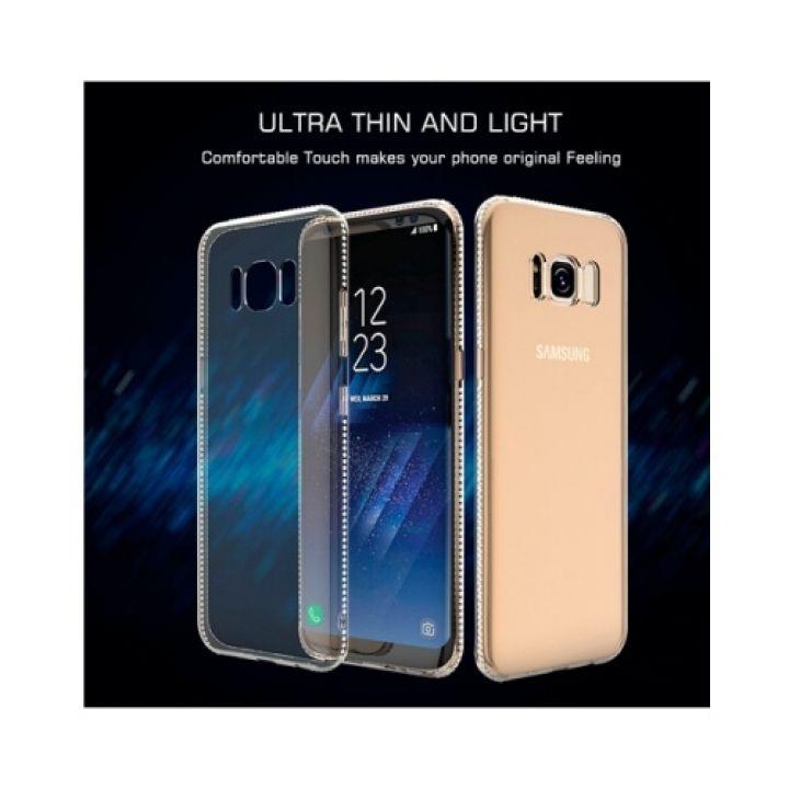 Pure Diamonds чехол накладка для Samsung Galaxy S8 Plus gold