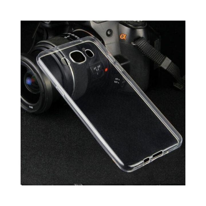 Прозрачный чехол накладка Bright для Samsung Galaxy J7 2016