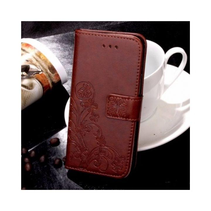 Красивый кожаный чехол книжка Lovely для iPhone 7