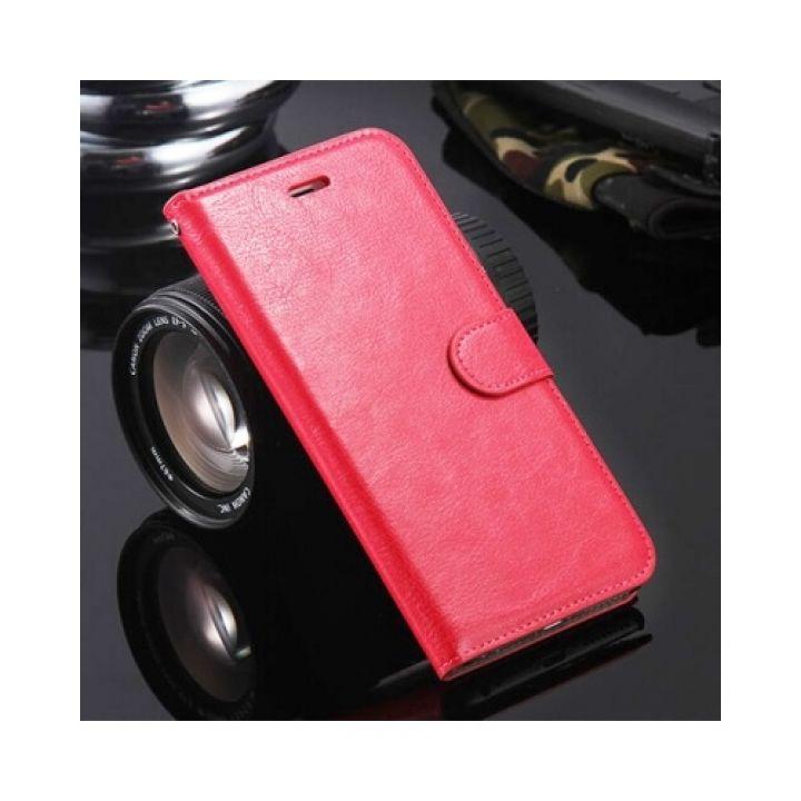 Красивый чехол книжка Floveme Vintage для iPhone 7 rose