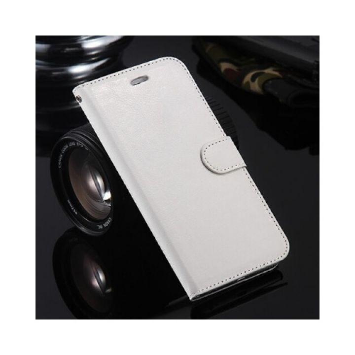 Классический кожаный чехол книжка Floveme Vintage для iPhone 7 white