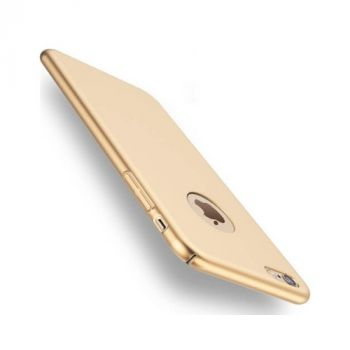 Чехол бампер Silk Touch для iPhone 7 gold