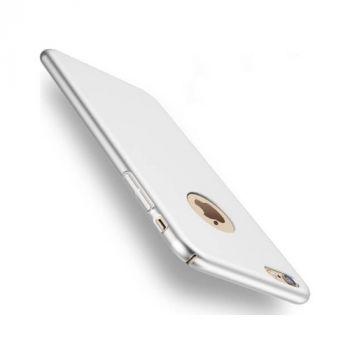 Пластиковый защитный чехол бампер Silk Touch для iPhone 7 silver