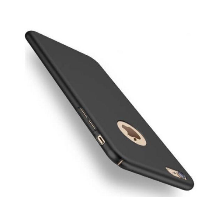 Защитный ультратонкий чехол Silk Touch для iPhone 8 черный