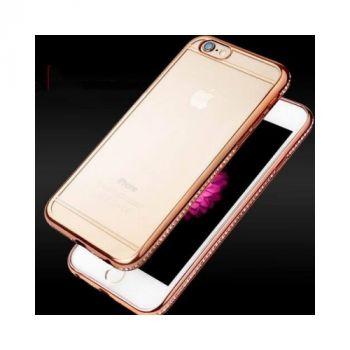 Оригинальный чехол бампер Pure Diamonds для iPhone 8 rose