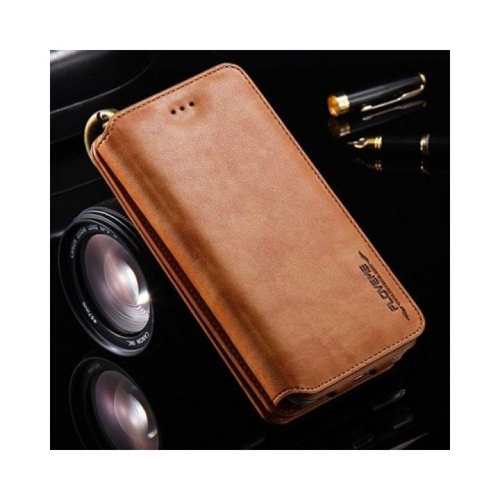 Чехол бумажник Business для iPhone 6/6s brown
