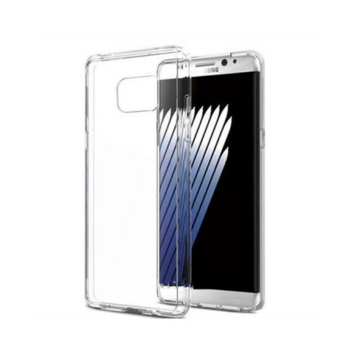 Прозрачный силиконовый чехол накладка Bright для Samsung Galaxy Note 7