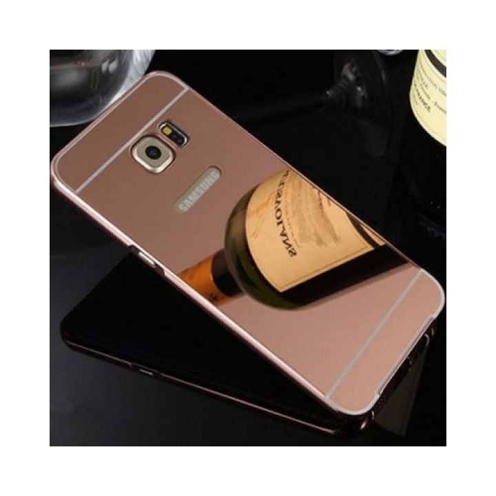 Роскошный чехол бампер Aluminium для Samsung Galaxy Note 7 rose