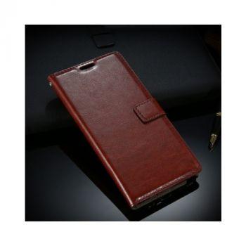 Кожаный чехол книжка Floveme Vintage для Samsung Galaxy Note 7 brown